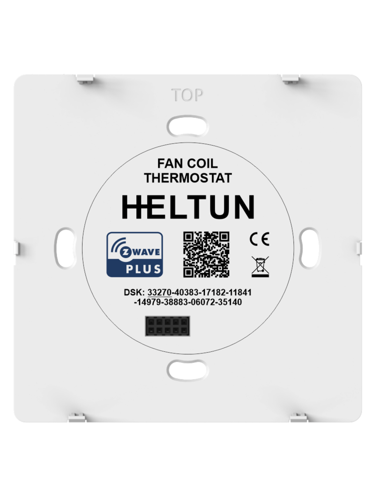 Išmanus termostatas HELTUN HE FT-01 Fan Coil Thermostat